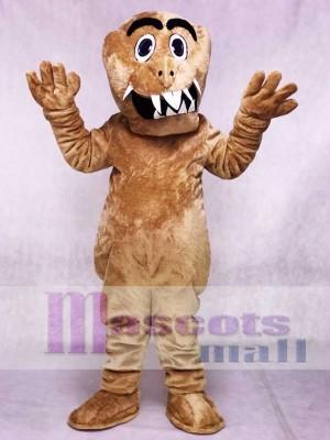 Braun Monster Maskottchen Kostüme