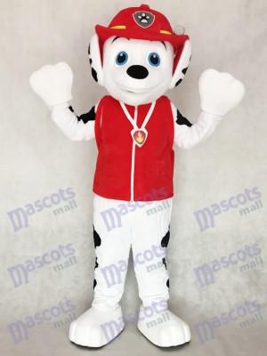 Pfote Patrol Marshall Dalmatiner Hund Maskottchen Kostüm Cartoon Anime