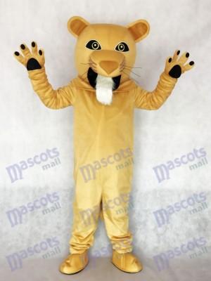 Heftig Cougar Maskottchen Kostüm Tier