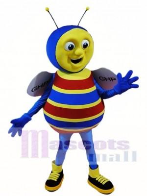 Blaue Biene Maskottchen Kostüme Insekt