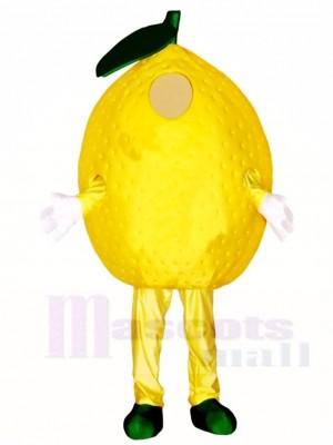 Gelbe Lemon Maskottchen Kostüme Pflanze