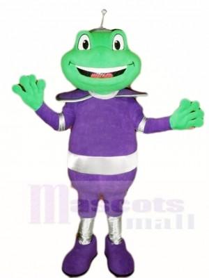 Frosch im Lila Passen Maskottchen Kostüme Tier