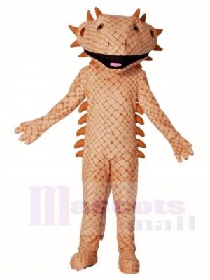 Braun Lizard Maskottchen Kostüme