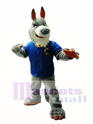 Grey Wolf Maskottchen Kostüm Grey Wolf Maskottchen Kostüme Tier
