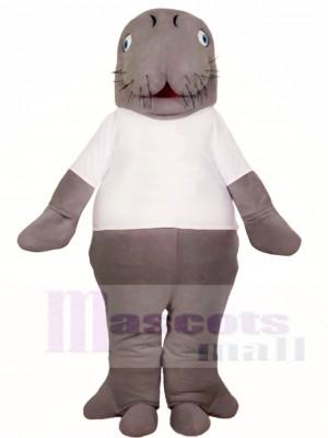 Manatis im weißen Hemd Maskottchen Kostüme Tier