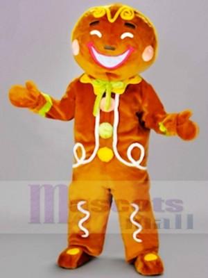 Ingwer Brot Mann Maskottchen Kostüme Weihnachten