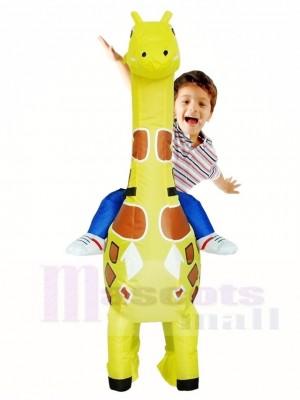 Giraffe Mach mich weiter Weihnachten Aufblasbar Halloween Kostüme für Kinder
