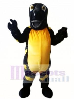Schwarze Eidechse Saura Iguana Alligator Maskottchen Kostüme