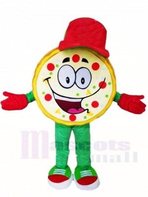 Rote Mütze Pizza Maskottchen Kostüme Essen Snack