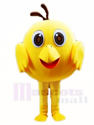 Gelbes Küken Maskottchen Kostüme Geflügel