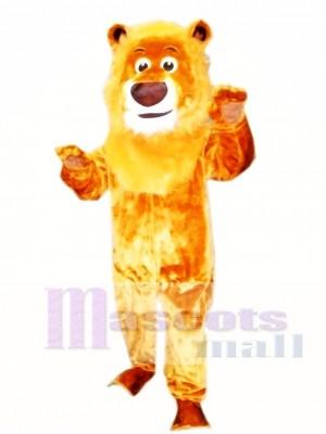 Realistisches Tier Männliches heftiges Löwe Maskottchen Kostüm Tier
