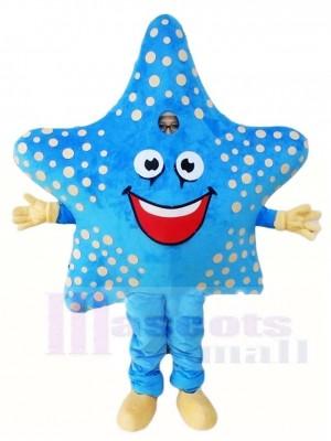 Blaue Seestern Maskottchen Kostüme Meer Ozean