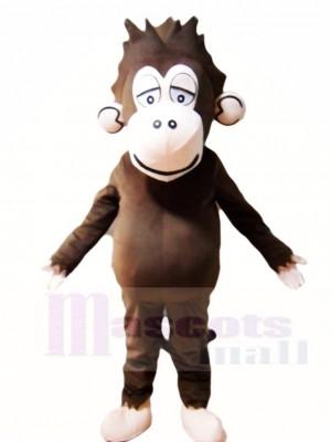 Braun Gorilla Maskottchen Kostüme Tier