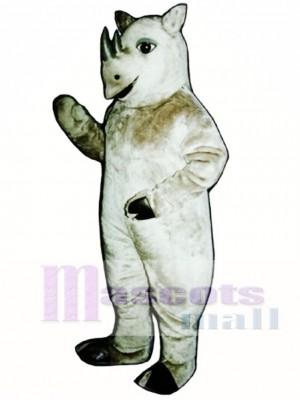 Nettes realistisches Nashorn Maskottchen Kostüm