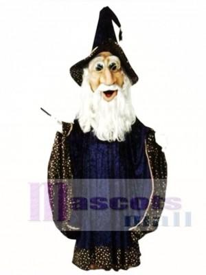Zauberer Maskottchen Kostüm