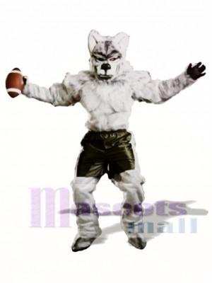 Niedliches Pro Wolf Maskottchen Kostüm