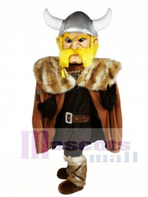 Thor der Riesen Wikinger Maskottchen Kostüm