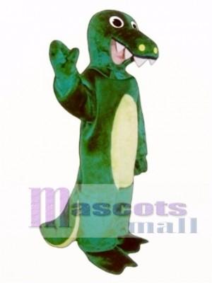 Nettes Alligator-Maskottchen-Kostüm