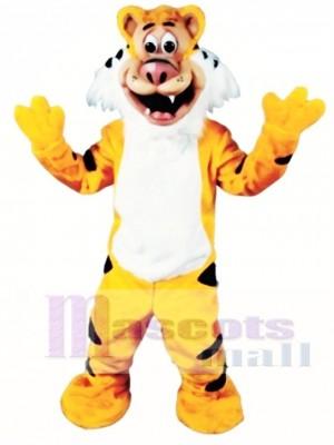 Niedliches Teager Tiger Maskottchen Kostüm