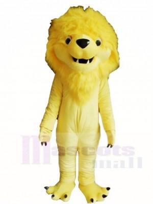 Gelb Löwe König Maskottchen Kostüme Tier