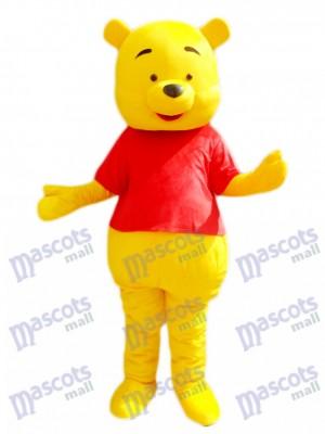 Winnie the Pooh Maskottchen Kostüm Karikatur