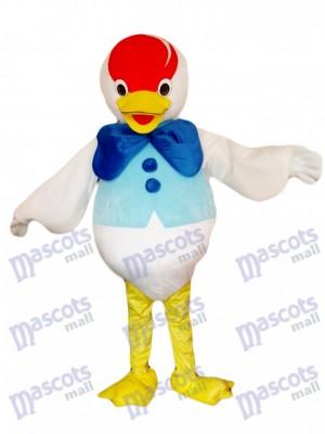 Blaues Bogen Enten Maskottchen Kostüm Tier