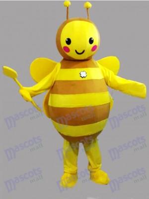 Gelbe Biene Maskottchen Kostüm Insekt