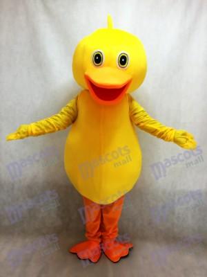 Großes gelbes Enten Maskottchen Kostüm