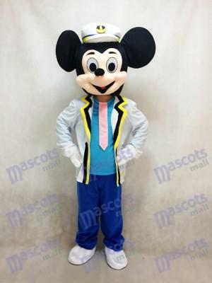 Neue Marine Mickey Mouse Maskottchen Erwachsenen Kostüm Anime