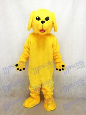 Neues nettes goldenes Labor Hundemaskottchen Kostüm Tier