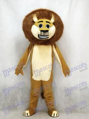 Löwe in Madagaskar Maskottchen Kostüm Karikatur Tier