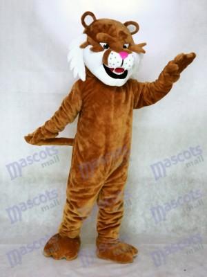 Neues realistisches Säbelzahntiger Maskottchen Kostüm Tier