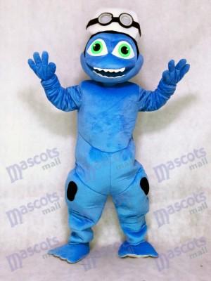 Nette verrückte Frosch Maskottchen Kostüm Abendkleid Ausstattung