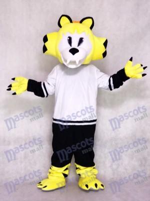 Nashville Predators Eishockey Team Maskottchen Kostüm Gelb Säbelzahnkatze Tier