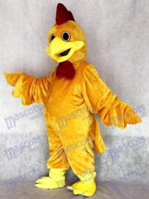 Nettes realistisches rostiges Hahn Maskottchen Kostüm Tier