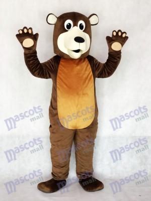Großvater Brown Bären Maskottchen Kostüm