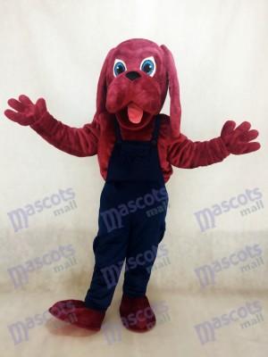Bluthund Hund Maskottchen kostüm