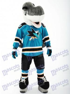 S.J. Sharkie der San Jose Sharks Maskottchen-Kostüm-Haifisch