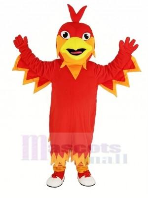 Süß rot Phönix Maskottchen Kostüm Tier