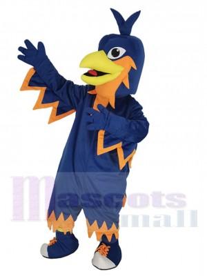 Dunkelblau Phönix Maskottchen Kostüm Tier