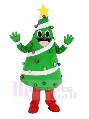 Weihnachten Baum Maskottchen Kostüm Karikatur
