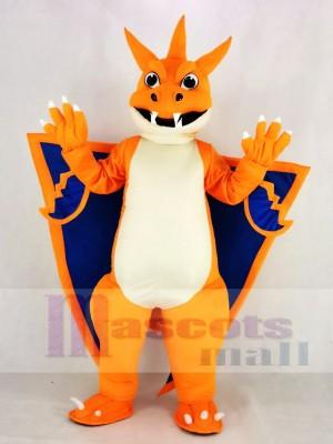Mega Charizard X. Tasche Monster Pokemon Pokémon Feuerdrache Maskottchen Kostüm Karikatur