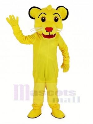 Löwe König Simba Maskottchen Kostüm Tier