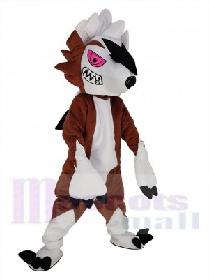 Lycanroc Lugarugan Pokémon Go Wolf maskottchen kostüm