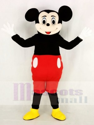 Komisch Mickey Maus Maskottchen Kostüm Karikatur