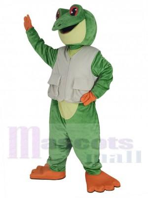 Laubfrosch maskottchen kostüm