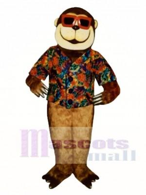 Schwingen Affe Maskottchen Kostüm