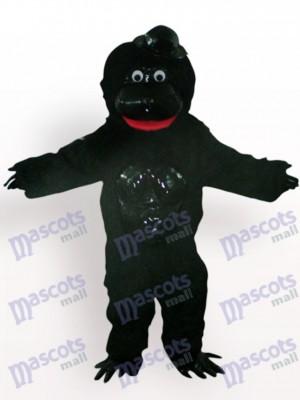 Orang-Utan mit schwarzem Hut Tier Maskottchen Kostüm
