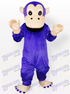 Lila Gorilla Tier Maskottchen Kostüm