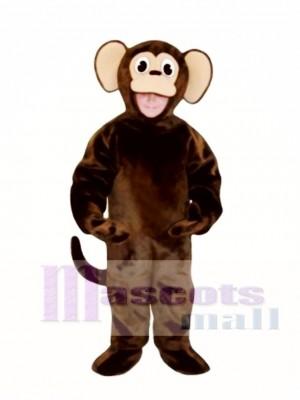 Niedlich Affe Maskottchen Kostüm Tier